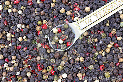 Quarter Teaspoon Whole Peppercorns