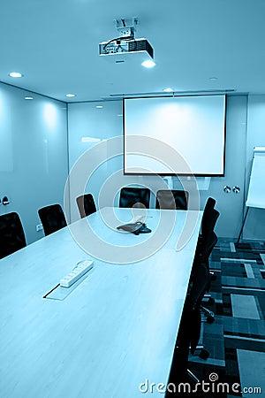 Quarto de reunião vazio