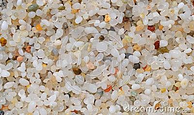 Quarts sand in Sardinia