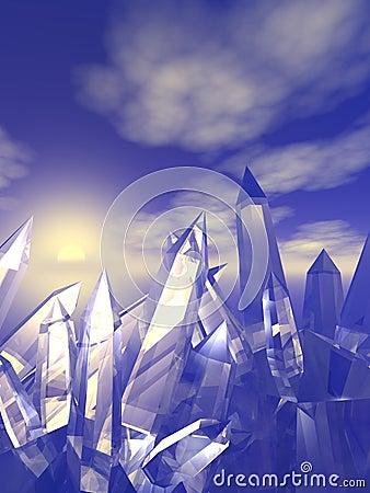 Quarz-Kristalle