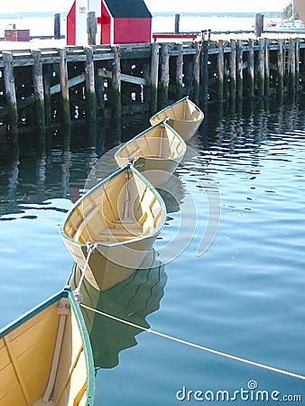 Quatre bateaux
