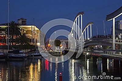 Quay d Espania - Barcelona - Spain