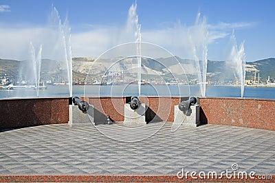 Quay of Novorossisk