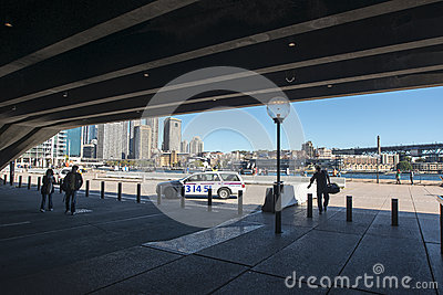 The Quay from the Opera House Editorial Photo