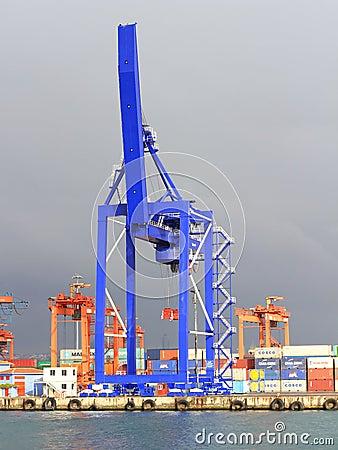 Quayside Crane Editorial Image