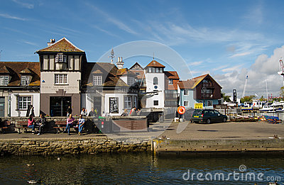 Quayside, Lymington Editorial Photography