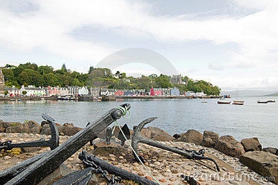 The quayside at tobermory