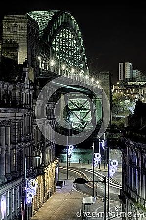 Quayside and Tyne Bridge, Newcastle