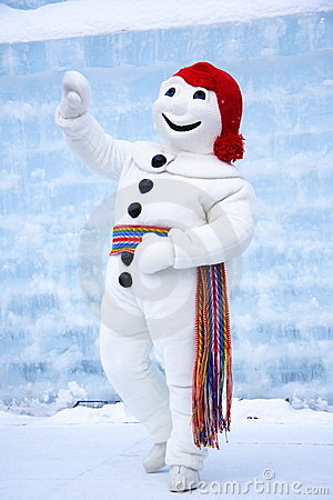 Free QUEBEC CARNIVAL: LE BONHOMME CARNAVAL Stock Image - 11628131