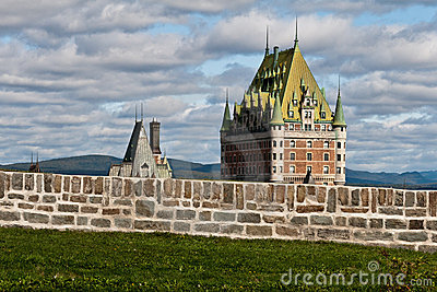 Quebec City with Chateau Frontenac