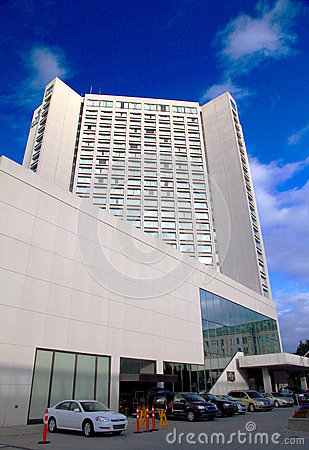 Quebec City Hilton Editorial Stock Photo