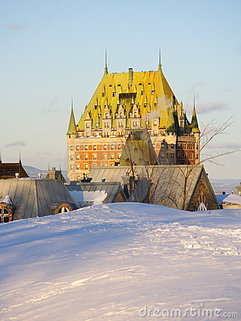 Quebec City landmark, Chateau Frontenac