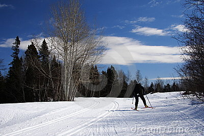 Quebec: Cross country skiing