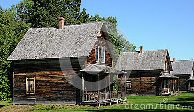 Quebec, the historical village of Val Jalbert