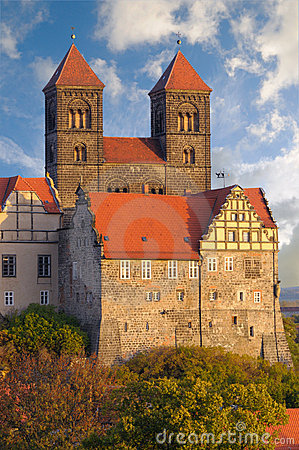 Quedlinburg Castle complex; Quedlinburg, Germany