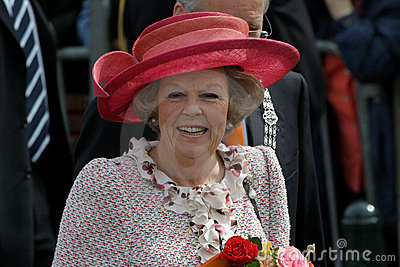 Queen Beatrix of the Netherlands Editorial Image