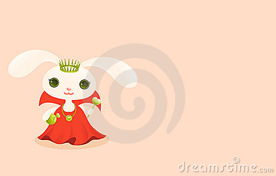 Queen. Cute baby animal
