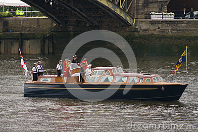 Queen and Duke of Edinburgh Editorial Stock Photo