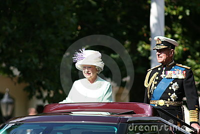 Queen Elizabeth Editorial Stock Photo