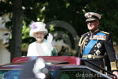 Queen Elizabeth Editorial Image