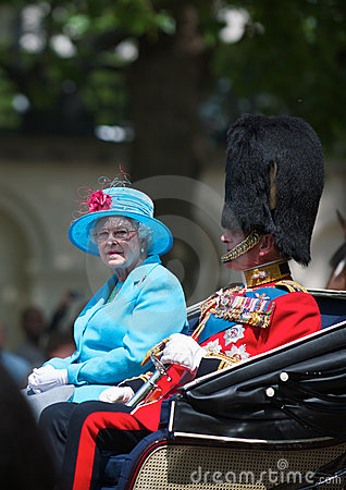 Queen Elizabeth Editorial Photography
