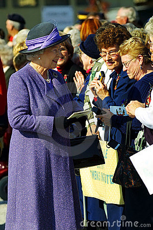 Queen elizabeth II Editorial Photo