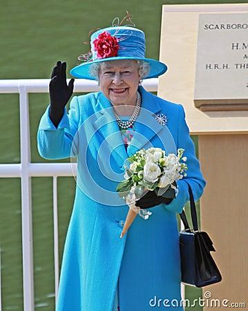 Queen Elizabeth II Editorial Stock Photo