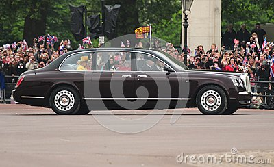 Queen Elizabeth II Editorial Photography
