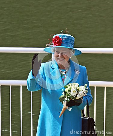 Queen Elizabeth II Editorial Image