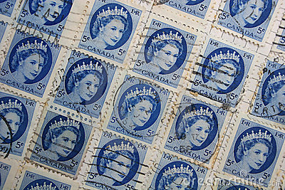 Queen Elizabeth stamps