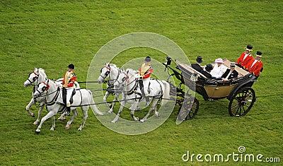 Queen of England Editorial Photo