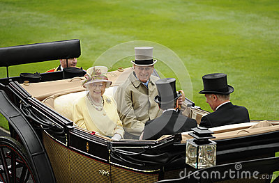 Queen of England Editorial Stock Photo