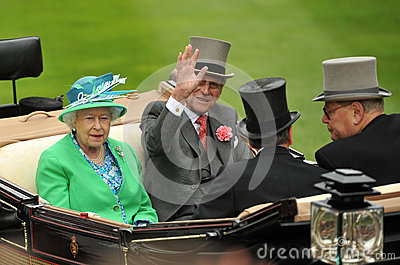 Queen of England Editorial Stock Image