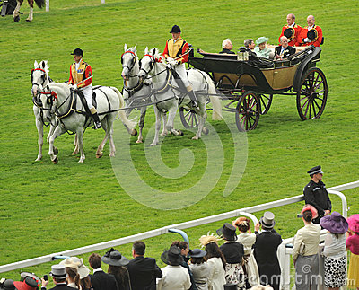 Queen of England Editorial Photography