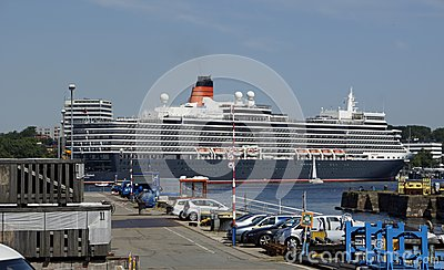 The Queen at Kiel Editorial Image