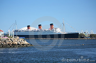 Queen Mary Imagem de Stock Editorial