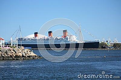 Queen Mary Imagen de archivo editorial