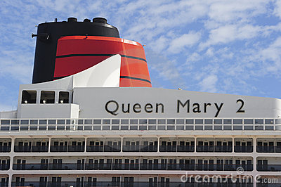 Queen Mary 2 a Editorial Stock Photo