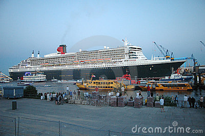 Queen Mary 2 Editorial Stock Photo