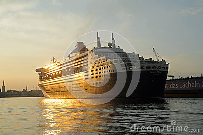 Queen Mary 2 Editorial Image