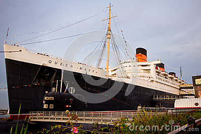 Queen Mary Editorial Photo