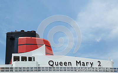 Queen Mary 2 cruise ship details Editorial Stock Image