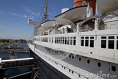 Queen Mary Historic Ocean Liner