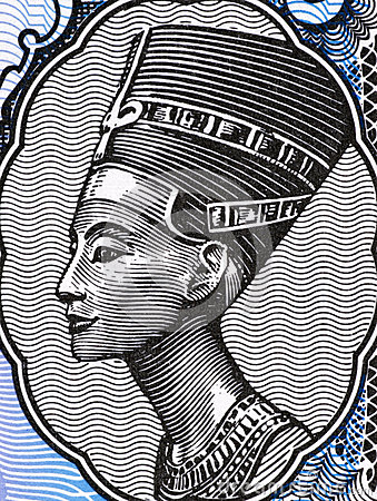 Queen Nefertiti Editorial Photo