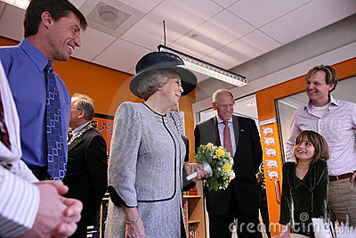 Queen  of the Netherlands - Beatrix Editorial Stock Photo