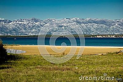 Queen s beach in Nin, Croatia