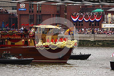 The Queen s Diamond Jubilee Editorial Stock Image