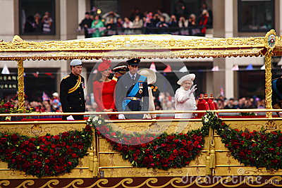 The Queen s Diamond Jubilee Editorial Stock Photo