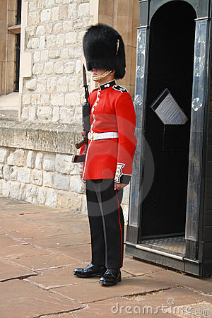 Queens Guard Editorial Stock Image