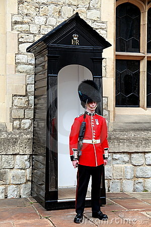 Queen s Guard Editorial Stock Image